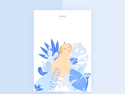 Poster Acolyte 🐕 poster illustration training dogs dog app application