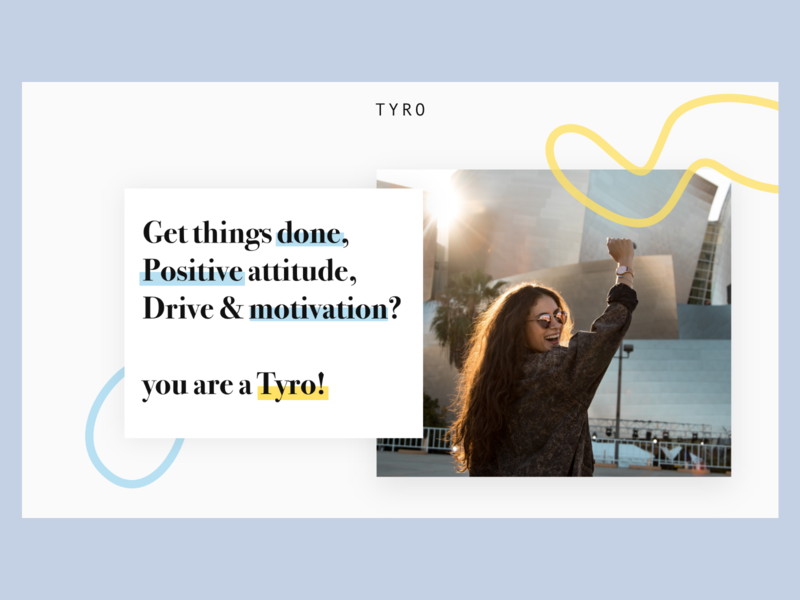 Redisign Tyro 2/3 redisign dailyui landingpage graphisme uidesign ui web website