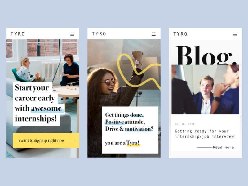 Redesign Tyro 3/3 redisign dailyui landingpage graphisme uidesign ui web website