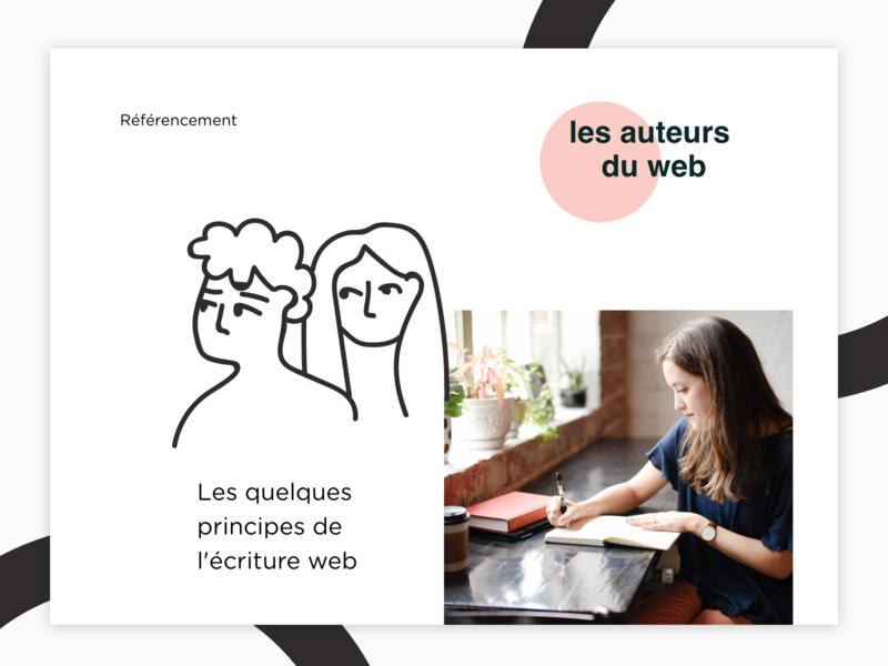 Les Auteurs Du Web design website landingpage seo vector illustration women web uidesign graphisme