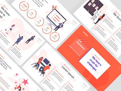 Presentation business illustration slides presentation corporate powerpoint design