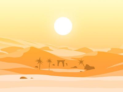 Desventura na Terra dos Sonhos - Grupo 1 Desert