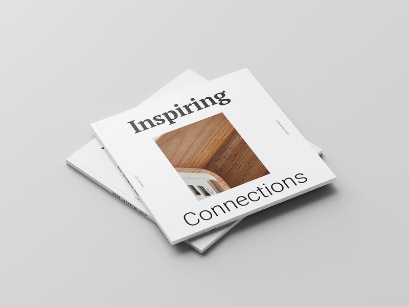 Nuup Lookbook bold type magazine cover cover design print designer minimal design clean layout magazine design product catalog catalogue booklet design print design lookbook catalog design lookbook design