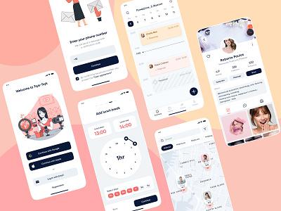 Tsyk-Tsyk app mobile design ux logo branding ui