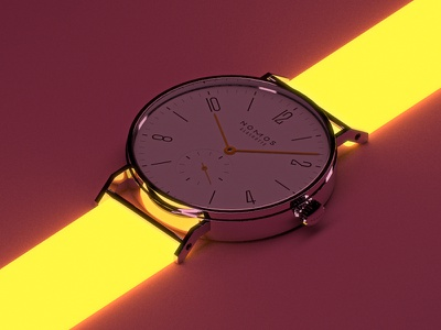 Nomos Tangente #4 mexico colima products watches cad cgi rendering render 3d cinema4d
