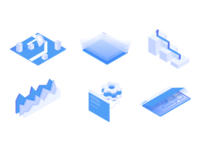 Advanced Web Ranking / Isometric Illustrations