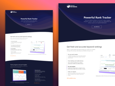 Advanced Web Ranking / Landing page exploration