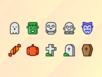 Happy Helloween Icons