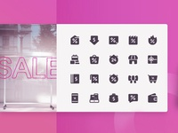 Big SALE Icon Set