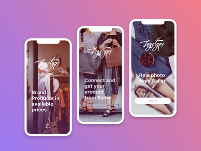 Onboarding screens onboarding onboarding screen women clothes iphone x uidesign sketch app ios design mobile app clean app design fashion ecommerce clean app clean