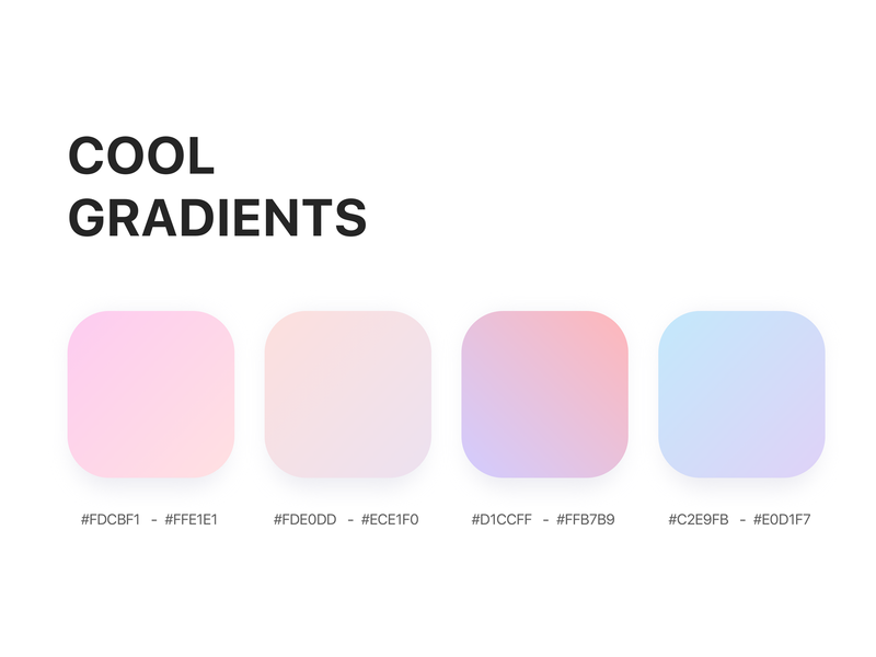 Color    Gradient branding user interface design create ux visualidentity vector art uidesign ui kit illustration illustrator gradient background gradient color gradient dribbble colorscheme colorpalette colorful design bright color cool colors app
