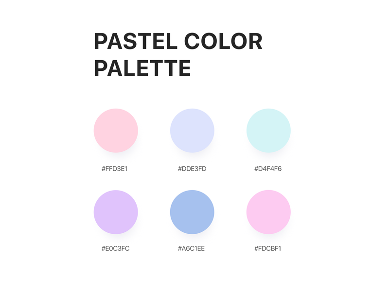 Pastel colors colours coloful gradient color dribbble create vector branding user interface design colorscheme colors illustration ui