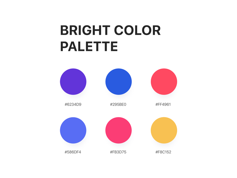 Color Palette dribbble app ios vector branding gradient background create uidesign user interface design gradient color dribble app color design website mobile ui  ux design ui palette color coloful