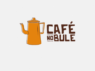 Café no Bule - Logotipo illustration icon typography xilogravura nordeste vector branding design logo