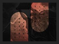 "Cities Church ""Ten Commandments"" Sermon Series Branding"