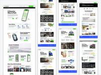 ParkMobile Website Design