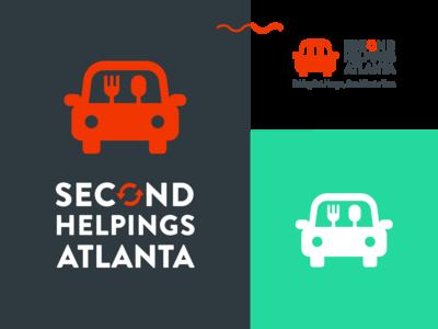 Brand work for Second Helpings Atlanta