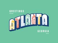 A Post Card for Atlanta