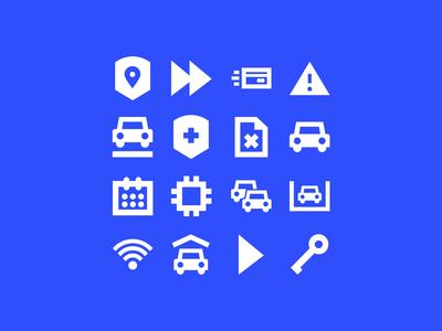Parkmobile Iconography