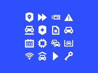 Parkmobile Iconography