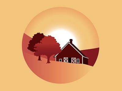 Quick Farm Silhouette