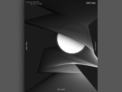 A Magic Beyond All We Do Here (July 5 2018) ai black and white blend tool 2 invites invitation graphic design colors a poster every day poster challenge graphic  design color poster photoshop illustrator gradient
