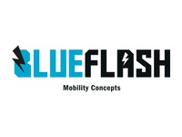 Blue Flash HAWK Logo