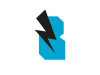 Blue Flash Logo