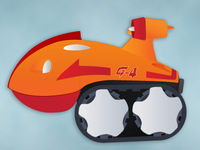 Vehicle from Gatchaman/G-Force/Battle of the Planets