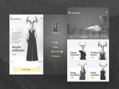 Free UI PSD Mobile App Fashion & Ecommerce ver 2.0 top best mobile down free ux ui design app ecommerce