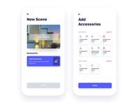 UI Kit for Smart Home IoT (Loading 50%)