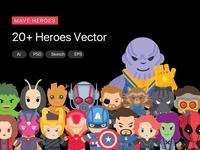 Mave Hero Characters