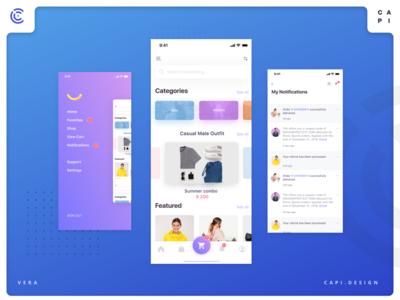 Capi - Shoping App Design