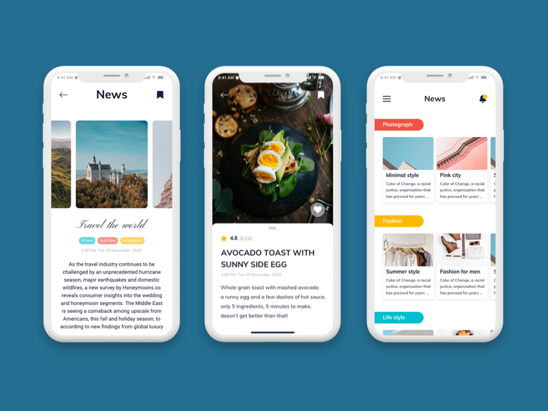 Nove - Fashion Mobile App UI Kit figma sketch vector app ui kit mobile design creative capi nove
