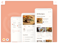 Caco - Cooking Mobile App UI Kit