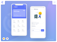 Moobank - Banking Application UI Kit