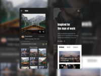 Caily News - Magazine & News App UI Kit