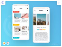 Nove - Fashion Mobile App