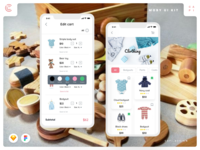 Moby E-commerce Mobile App UI Kit