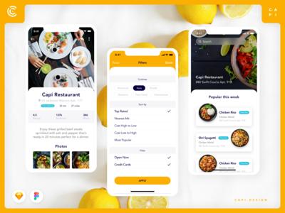 Foode - Food Order Mobile App UI Kit