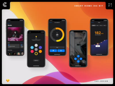 Deep UI Kit iOS 13 Free Version