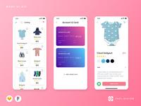 Moby Baby E-commerce Mobile App UI Kit