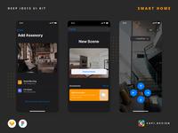 DEEP – Smart Home UI Kit iOS 13