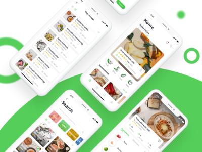 HaCook Recipe Manager App UI Kit