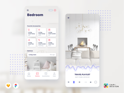 CaHome Smart Home App UI Kit