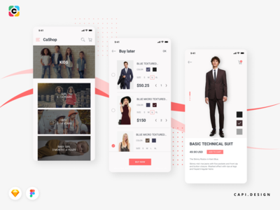 Veera E-commerce Mobile Application UI Kit
