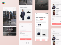 Veera E-commerce App UI Kit Free Version