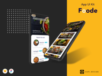 Foode Food App Design UI Kit