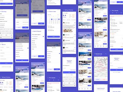 World of Screens - CaHotel UI Kit app design creative app development mobile app development mobile app design ui  ux uidesign