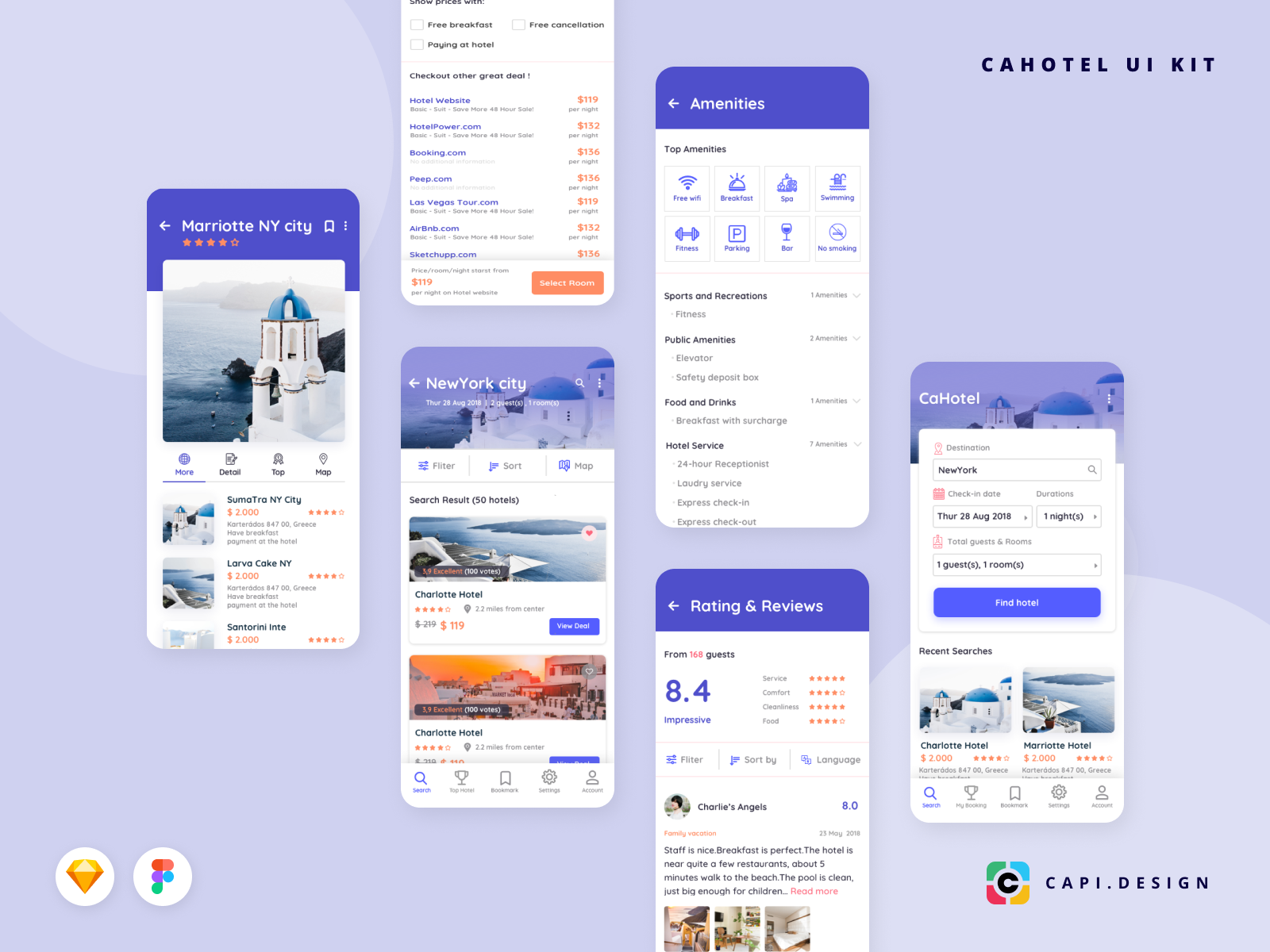 Cahotel dribbble